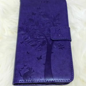 Samsung Galaxy J3 2017 suojakuoret Violetti puu