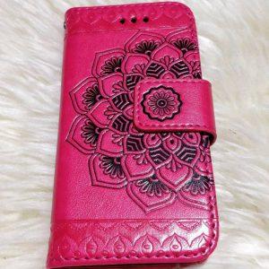 iPhone 5S SE suojakuoret Punainen Mandala