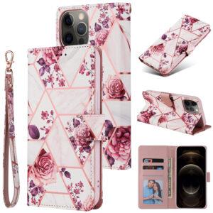 iPhone 12 suojakuoret Ruusukulta marmori